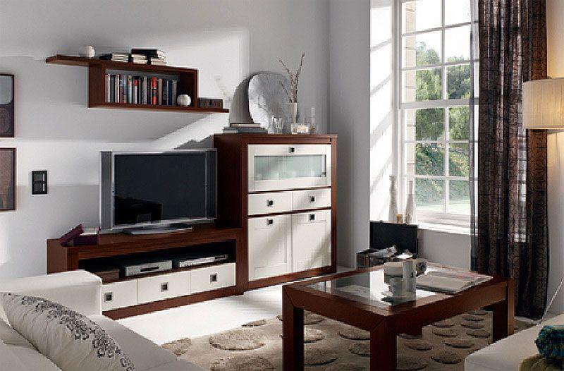 863 Crea Apilable 5 Color Nogal Y Blanco Home Furniture Home Decor