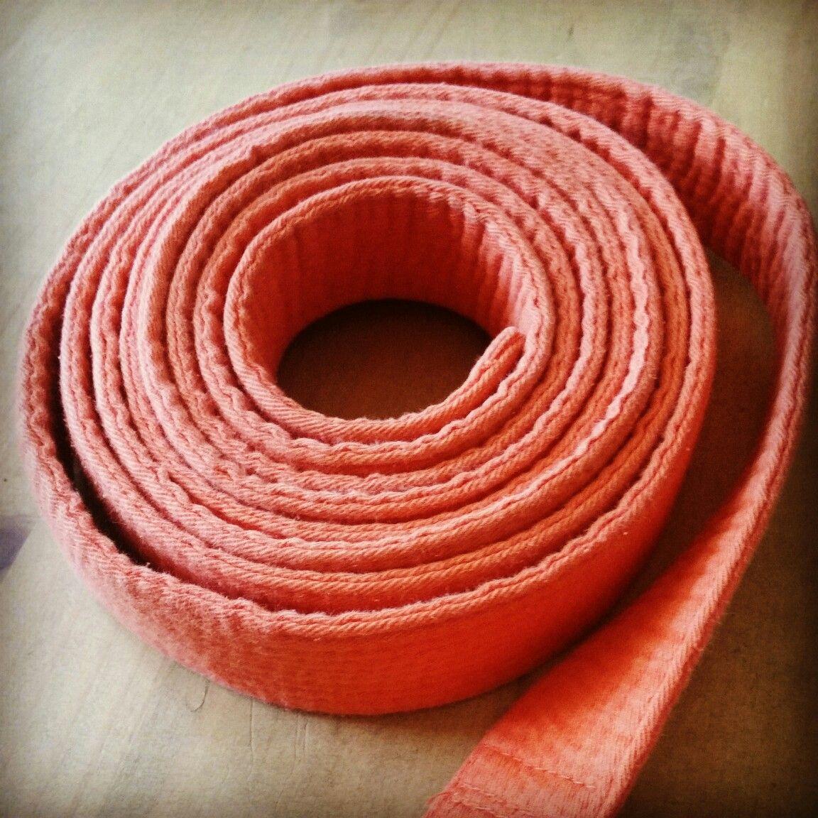 Ceinture orange judo
