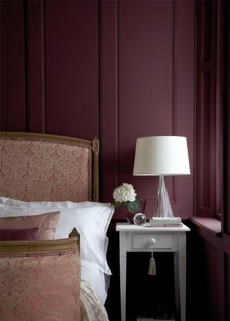 Marsala Wine Bedroom Colors Modern Bedroom Decorating With Dark