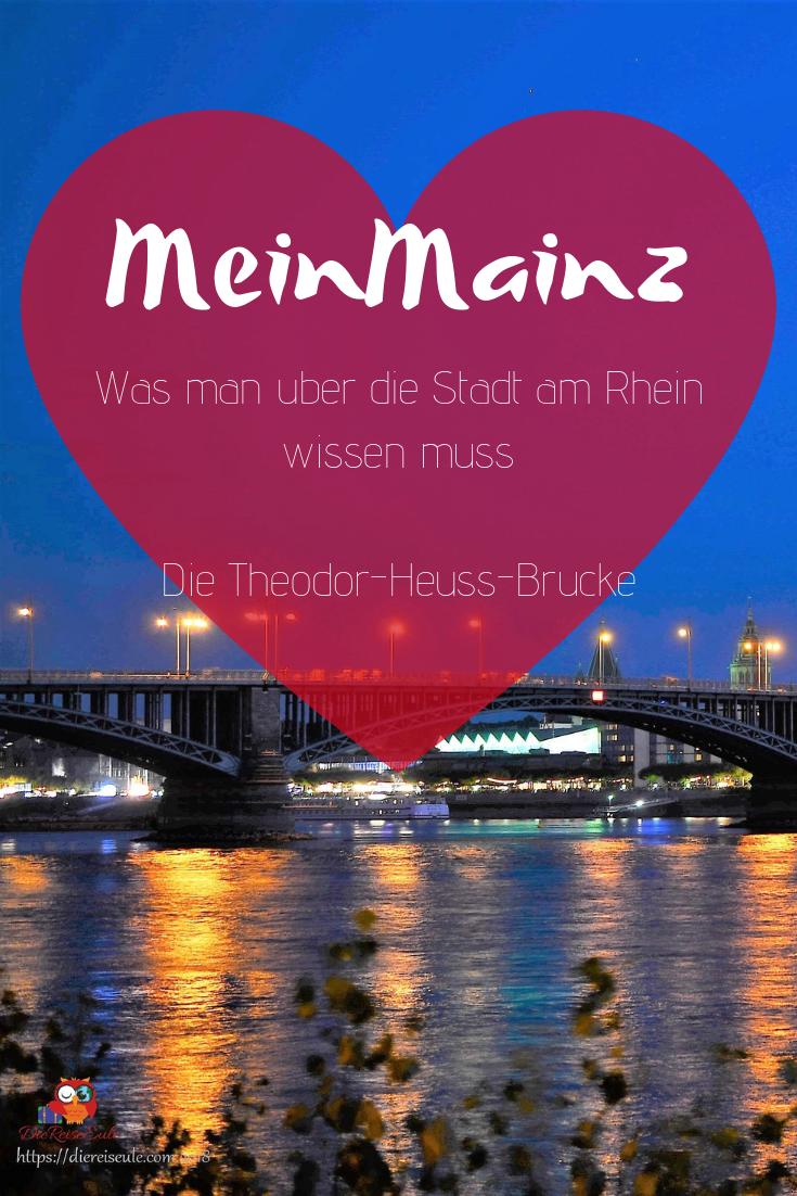 Meinmainz Die Theodor Heuss Brucke Mainz Maine