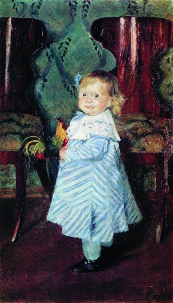 Boris Kustodiev (Russia, 1878 1927) Portrait of I.B