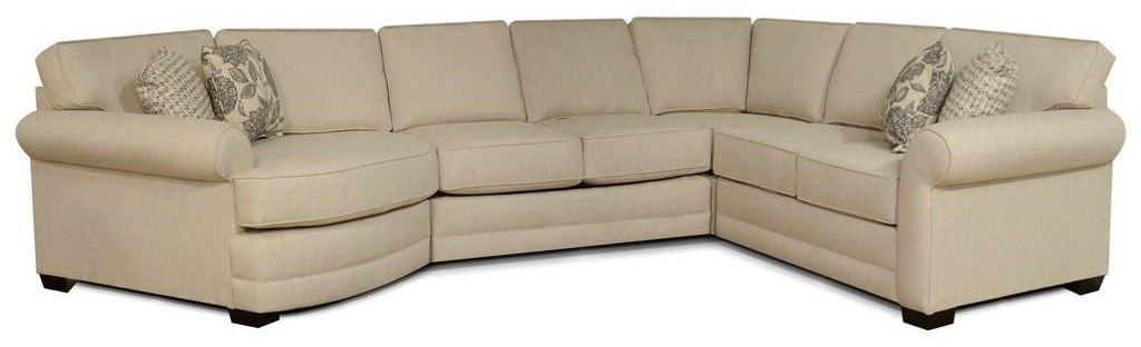 Ascot Sectional With Cuddler And 6 Seats By England In 2020