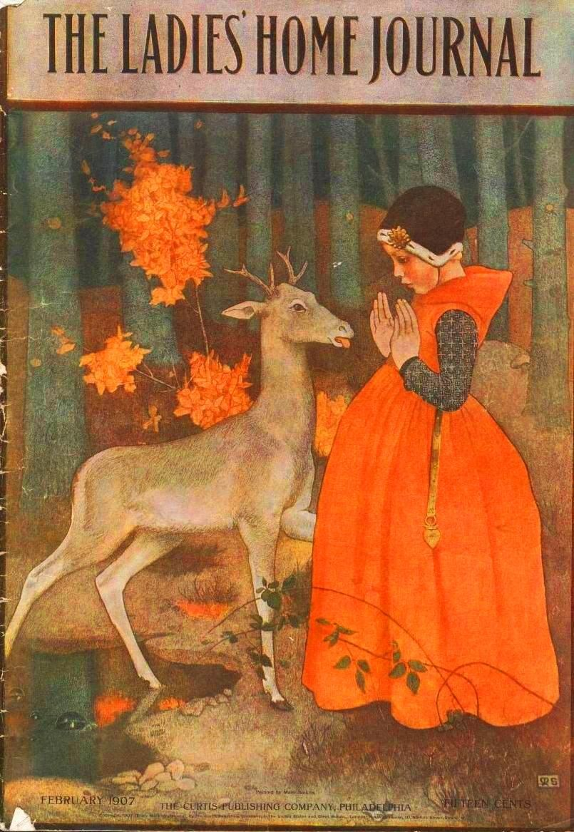 Printed Matter - Book Cover Ladies Home Journal Deer