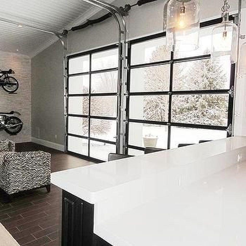 Cool 35 Inspiring Home Garage Door Design Ideas Must See