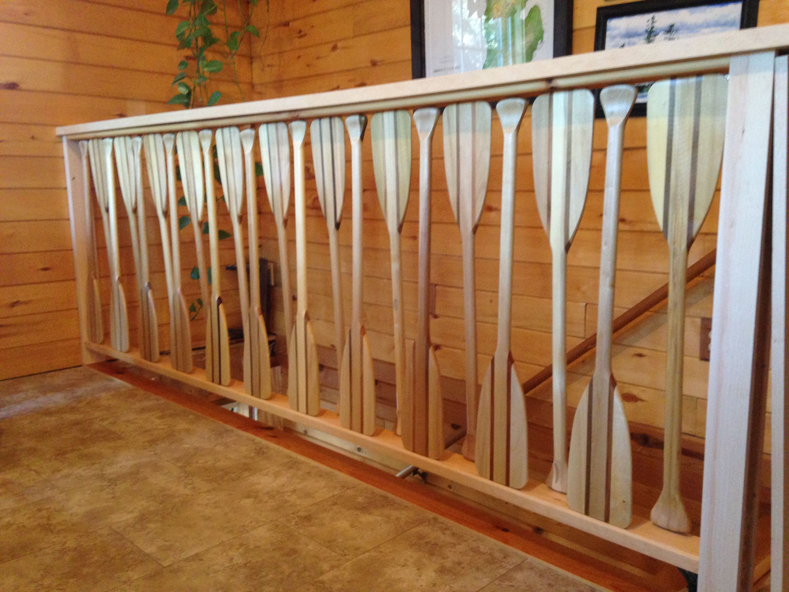 Best My Custom Canoe Paddle Stair Railing My Husband Is So 400 x 300