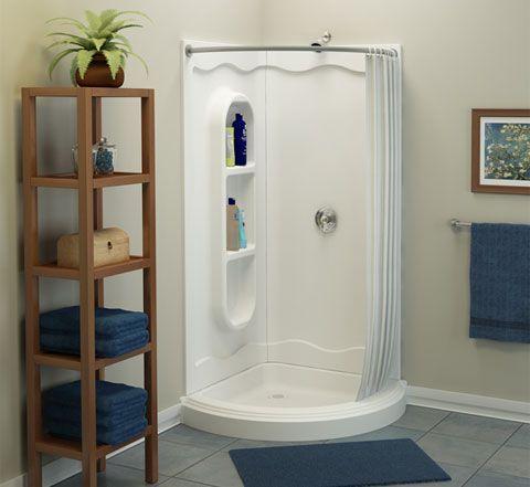 Spankin 39 new shower enclosures showers corner shower - Corner shower units for small bathrooms ...