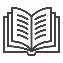 Book Education Library Open School Study Icon In School School Supplies Education