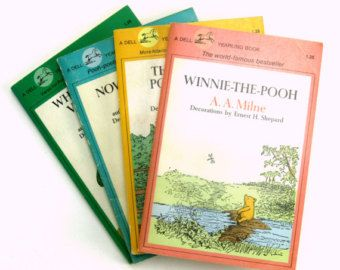 Milne Paperback Set 80s Winn Ie The Pooh The House At Pooh