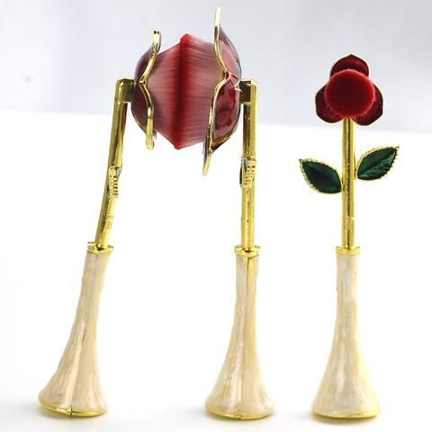 beauty and the beast rose blender brush makeup tools