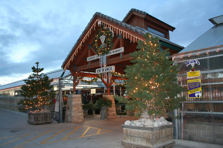 festive times for christmas at nick u0027s garden center christmas