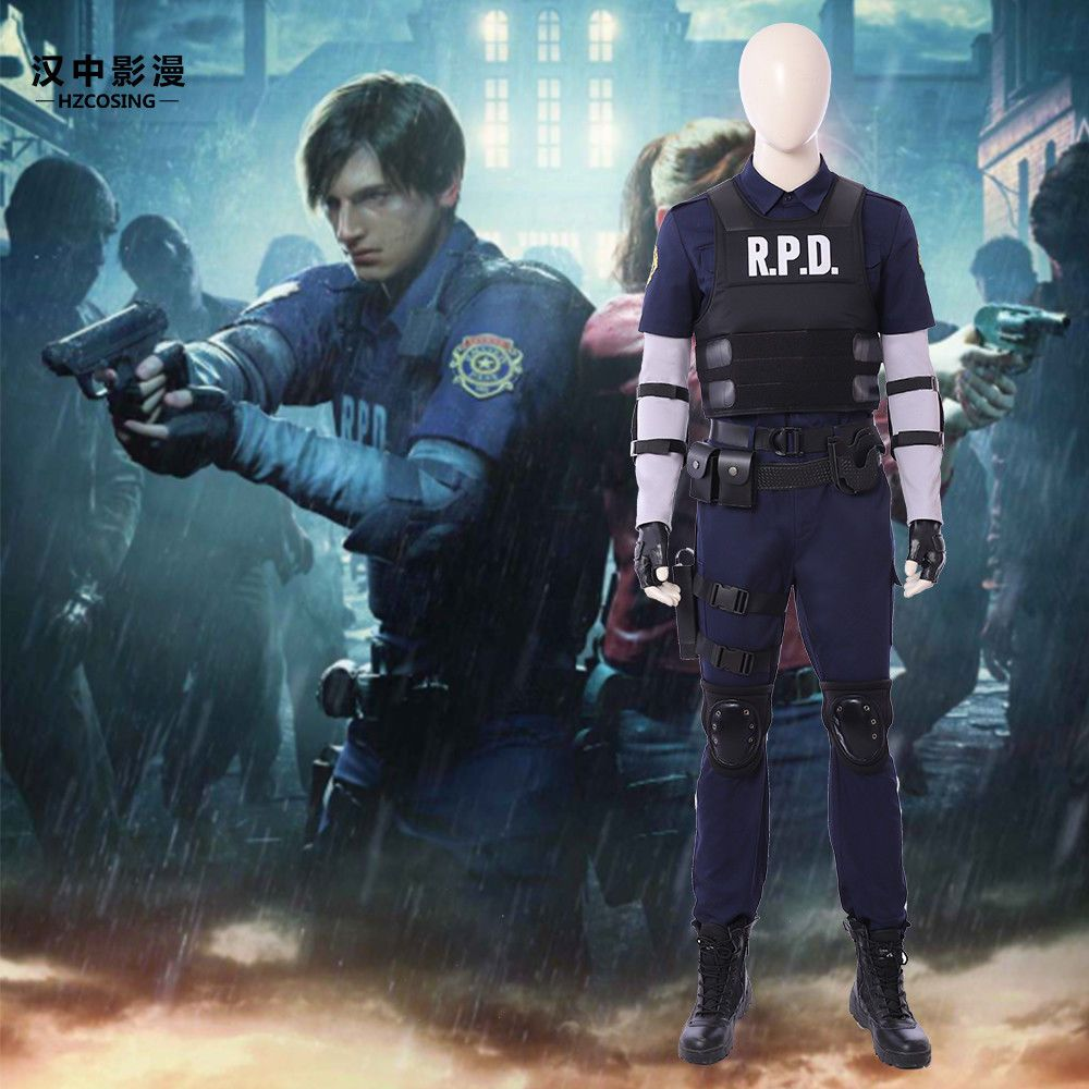 HZYM Resident Evil 2 Remake Biohazard Re 2 Leon Scott Kennedy Cosplay  Costume  cosplay  costumes  costume 5d0a5c38f010