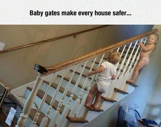 Charming Comment Your Ideas On How To Childproof The Side Of Stairs! It Has Been A