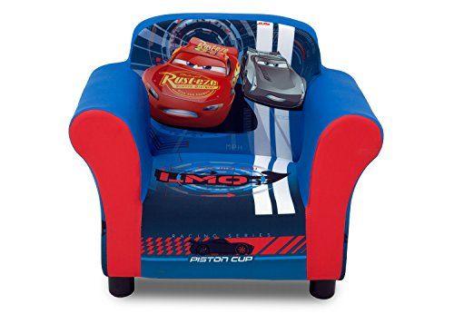 Delta Children Upholstered Chair, Disney/Pixar Cars Delta Children