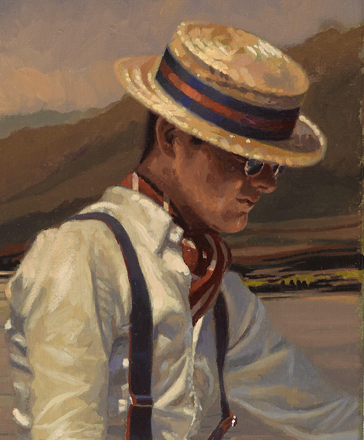 detail of THE OTHER SIDE OF SILENCE by Peregrine Heathcote