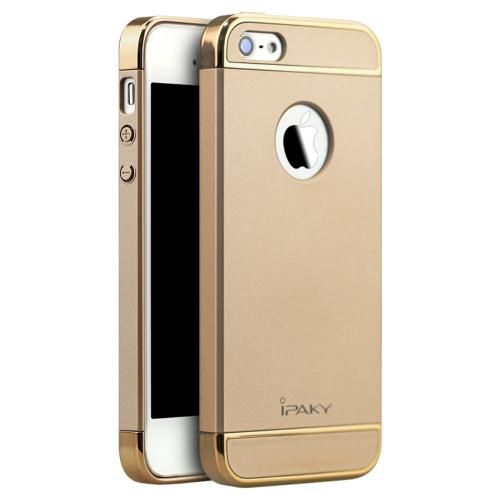 Köp IPAKY 0.6mm Ultra-thin Case for iPhone SE/5S/5 gold online: http://www.phonelife.se/ipaky-0-6mm-ultra-thin-case-for-iphone-se-5s-5-gold