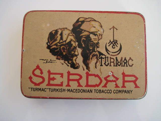 Excited to share the latest addition to my #etsy shop: Turmac Serdar Turkish cigarette tin (20) by Turkish Macedonian Tobacco Co http://etsy.me/2C6MUYJ #vintage #collectables #cigarettetins #tobaccocollectibles