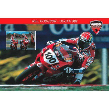 Ducati 999 Neil Hodgson Photography Art, Multicolor