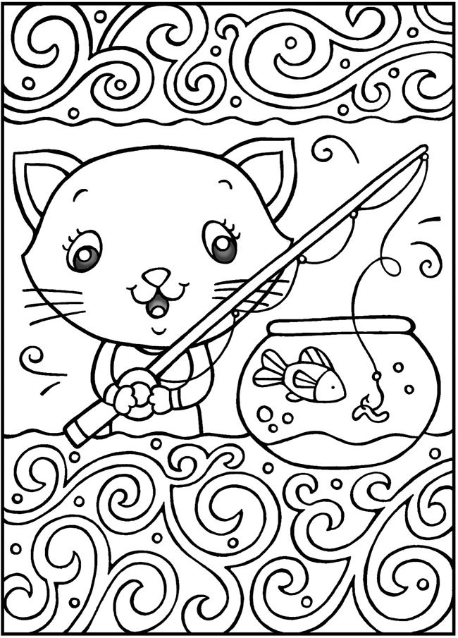 Welcome To Dover Publications SPARK Cool Cats Coloring Book
