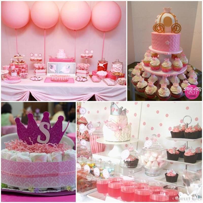 Decoracion de baby shower de princesa ideas de baby for Decoracion de princesas