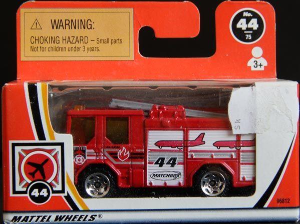 Model Matchbox Letiskoví hasiči