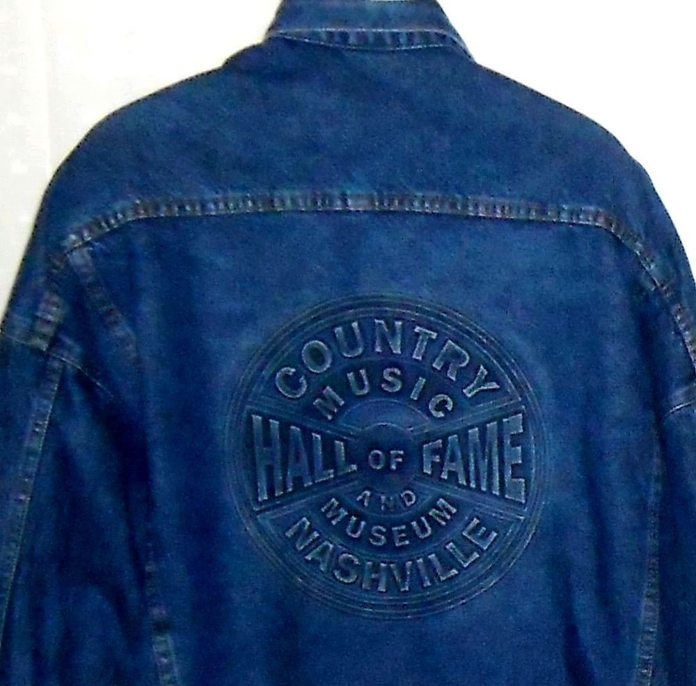 Tyca Country Music Hall Of Fame  Museum Nashville Denim Trucker - Music museums in usa