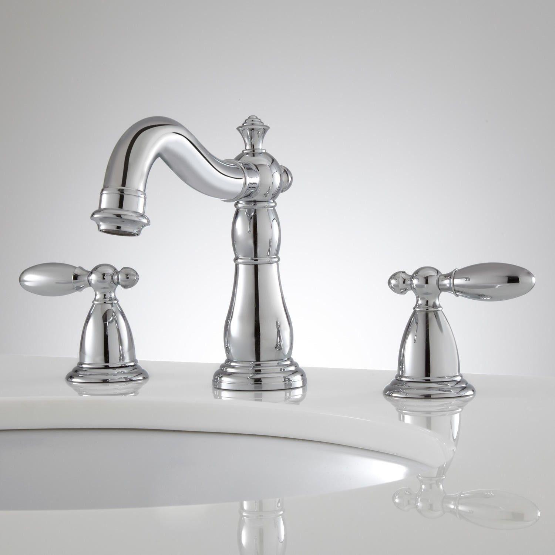 Zelda Widespread Bathroom Faucet   Zelda, Faucets and Bathroom sink ...
