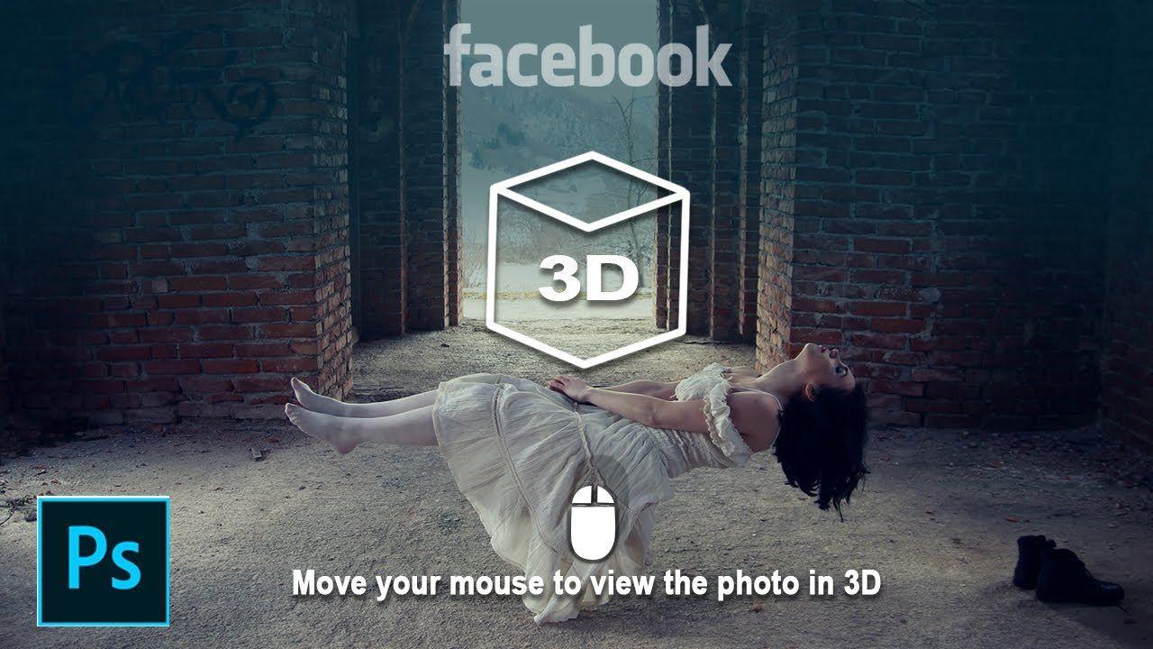 Hoe Maak Je Een 3d Facebook Post In Photoshop Photoshop Facebook Post