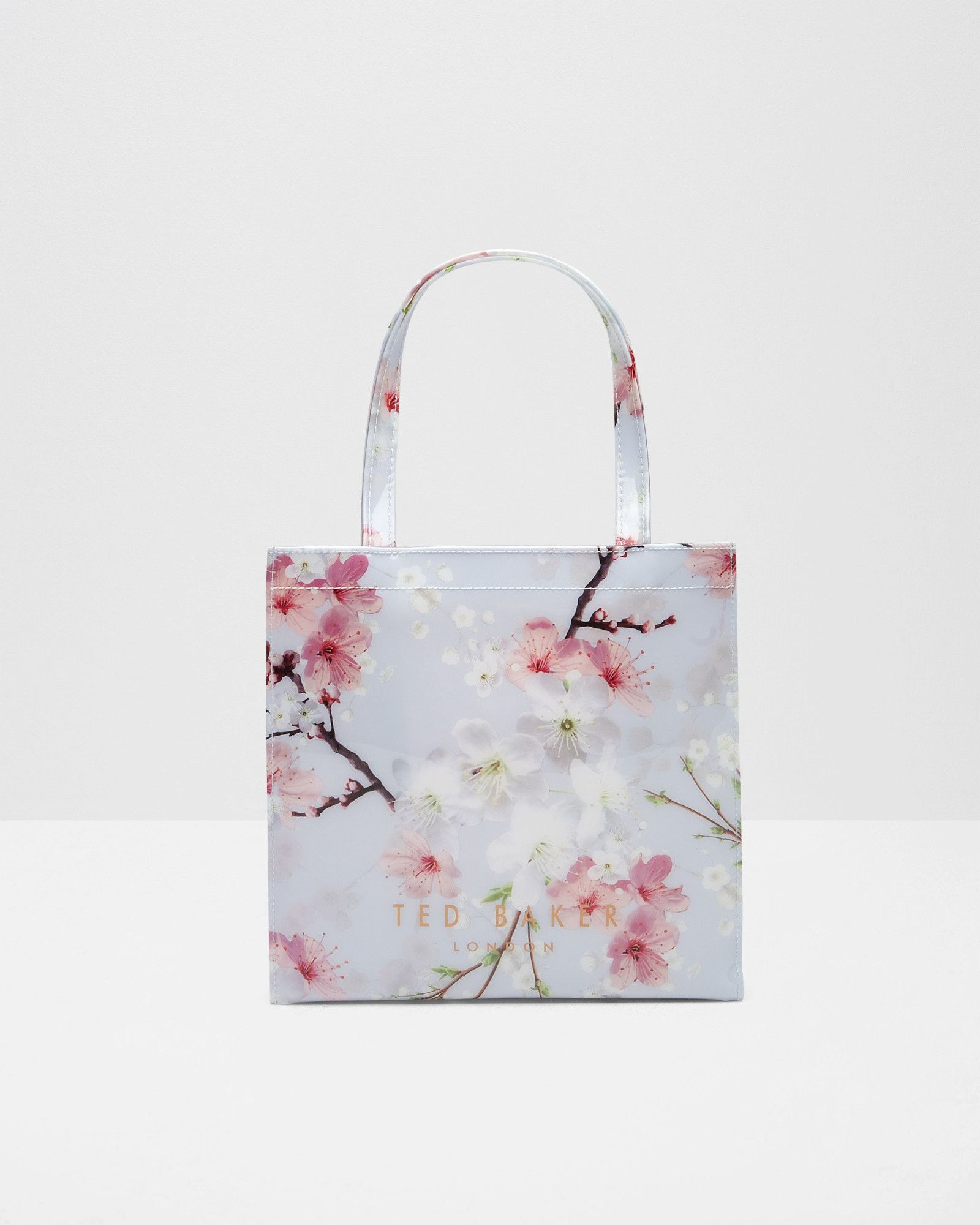 716e9e69741 Oriental Blossom small shopper bag - Light Grey | Bags | Ted Baker ROW