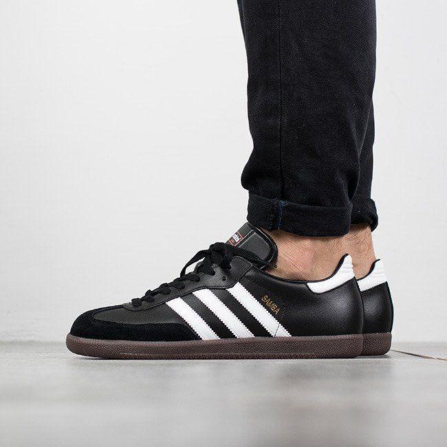 Günstig Adidas Originals Samba Schwarze Kombi Sneaker Herren