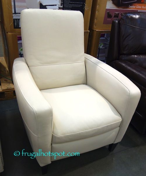 Costco Leather Dining Chairs: Costco: Natuzzigroup Leather Push-Back Recliner $499.99