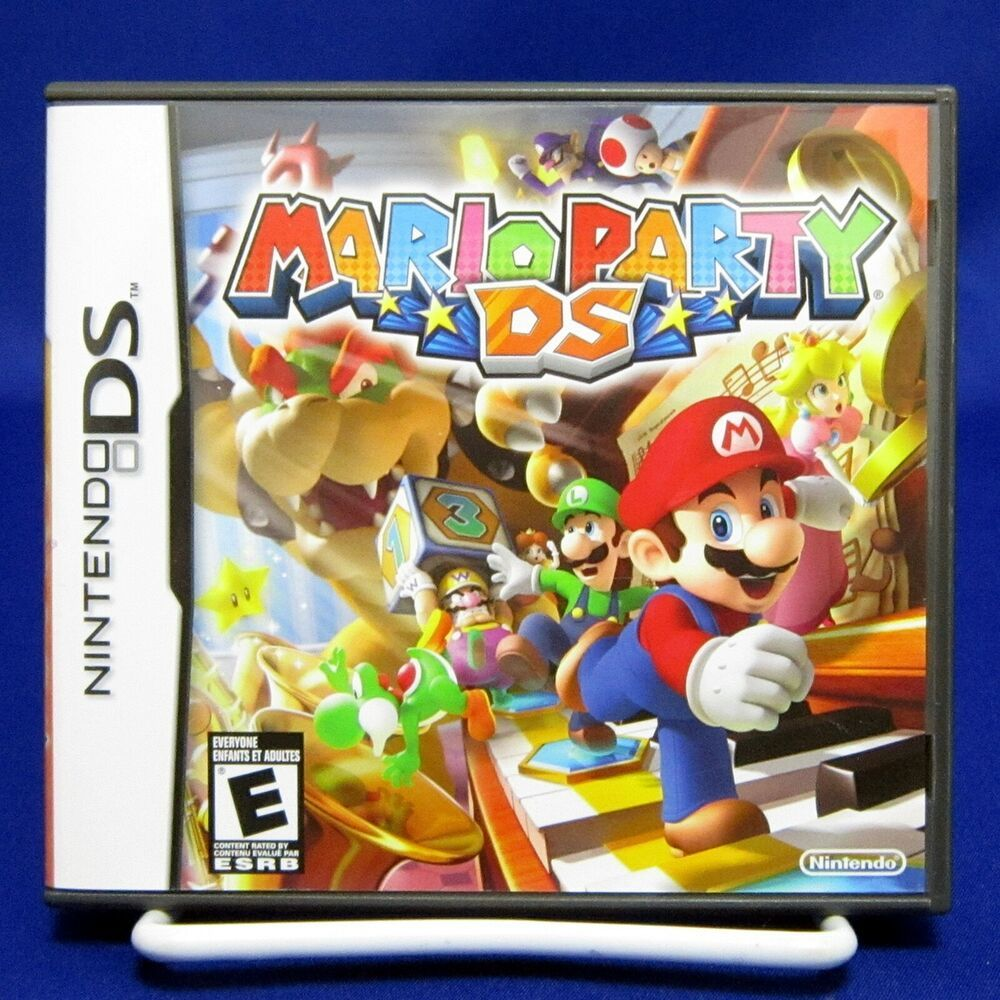 DS Mario Party DS Nintendo Tested & Compete 2007 Nintendo