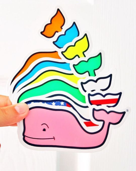 Cute Preppy Whales In 2019 Vineyard Vines Stickers