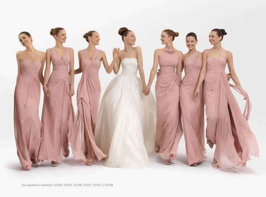 Demoiselles: damas de honra adultas é tendência em casamentos ...