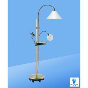 daylight floor lamp flexible daylight floor standing lamp with magnifier httpcorbytowninfo