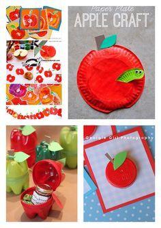 bricolage pomme s pommes pinterest bricolage pommes et automne. Black Bedroom Furniture Sets. Home Design Ideas