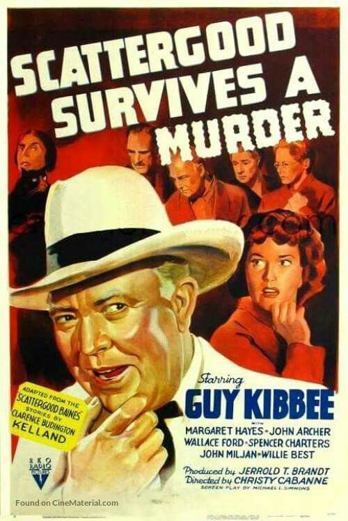 Scattergood Survives a Murder (1942) Guy Kibbee