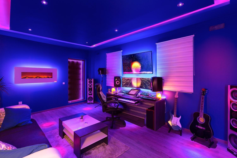 My cave  Комнаты видеоигр, Помещение музыкальной студии