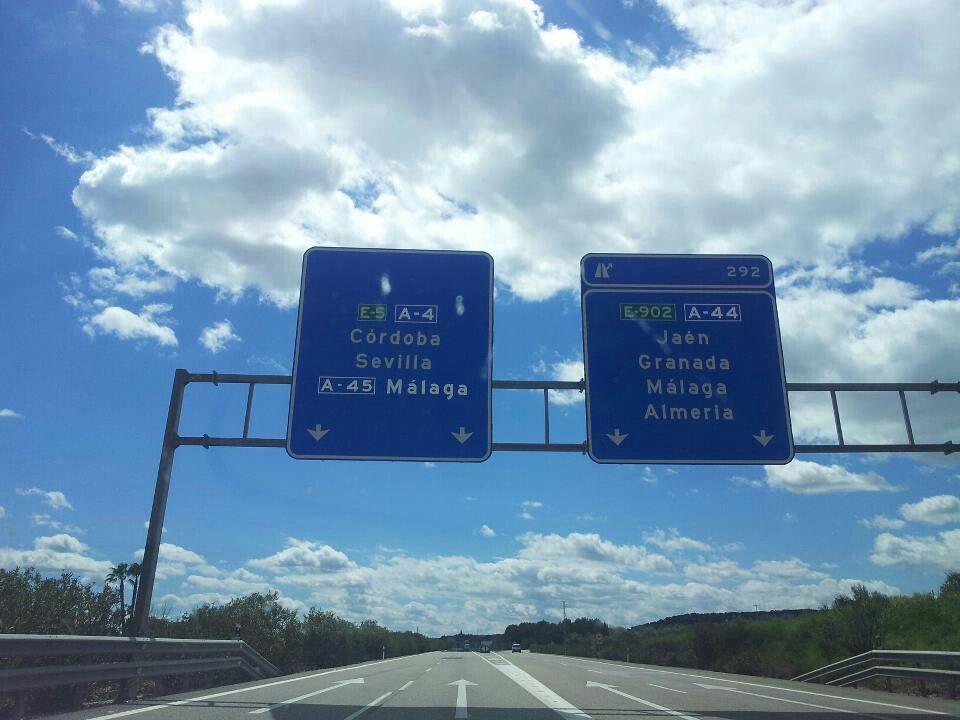 En camino al sur