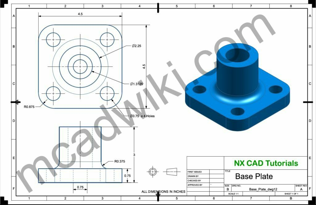 Pin On Cad 2d3d Drawing Exercise