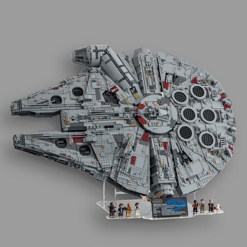 Display Solution For Lego Star Wars Millennium Falcon 75192 10179 Millennium Falcon Lego Lego Set Display Lego Star Wars