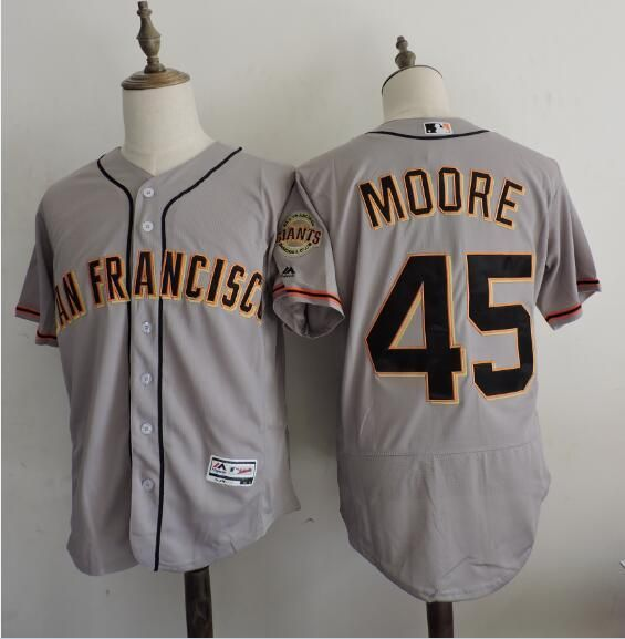the best attitude a69c0 83dc5 San Francisco Giants #40 Madison Bumgarner Gray Road ...
