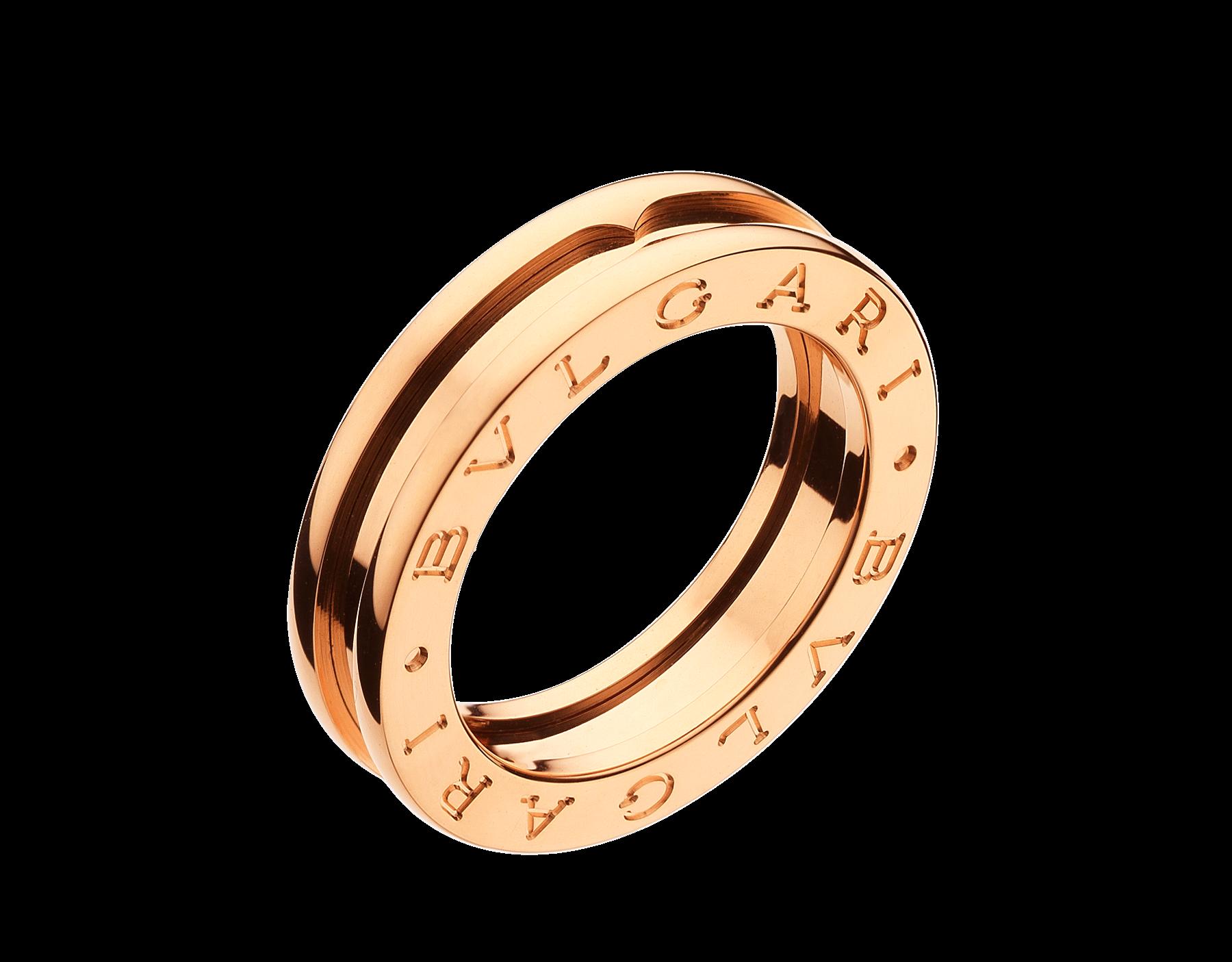 c8d7ed911c7 B.zero1 Anel de ouro AN852422 - Descubra as coleções da Bulgari e leia mais  sobre a magnífica joalheria italiana no seu site oficial.