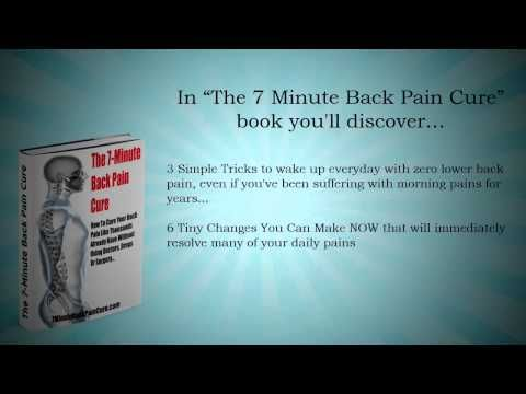 7 Minute Back Pain Cure Review - YouTube