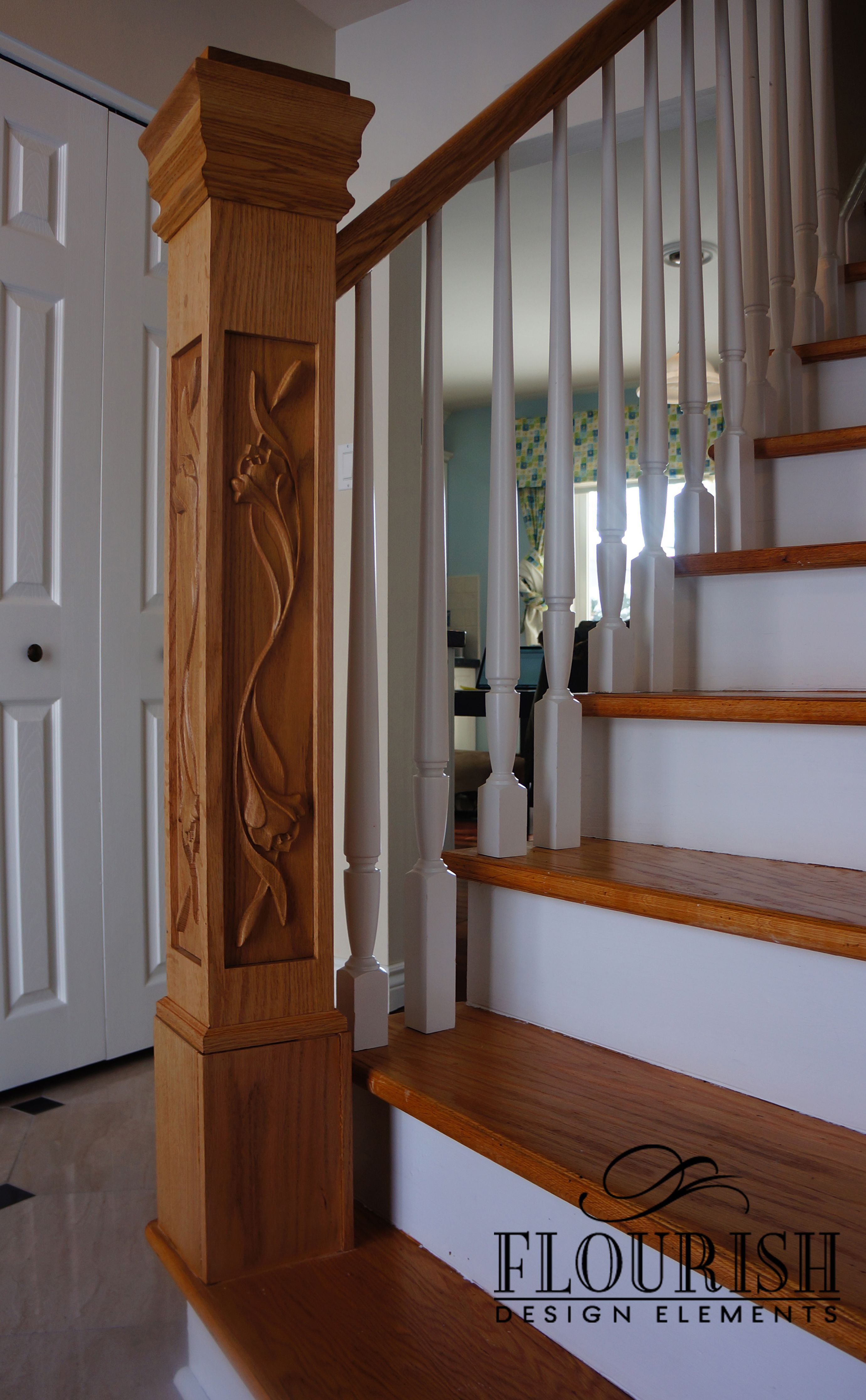 Image Result For Stair Post Design Spindle And Handrail Designs
