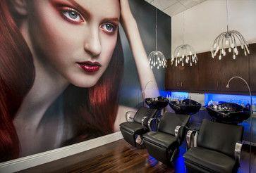 Zen Aveda Salon - contemporary - spaces - miami - Barbara Rooch Interior Environments, Inc.