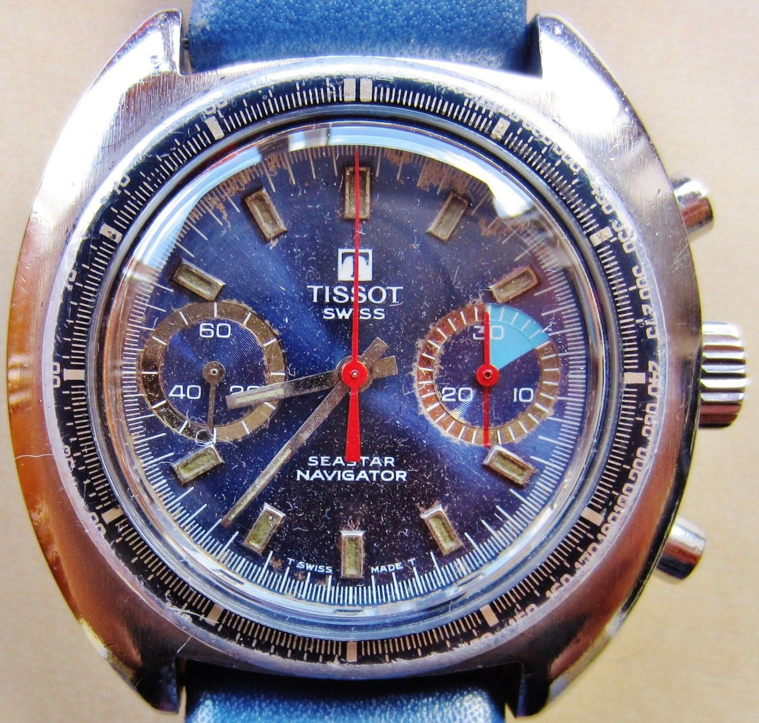 armani zoom for with large blue dial ethos watches sportivo emporio product tachymeter men watch