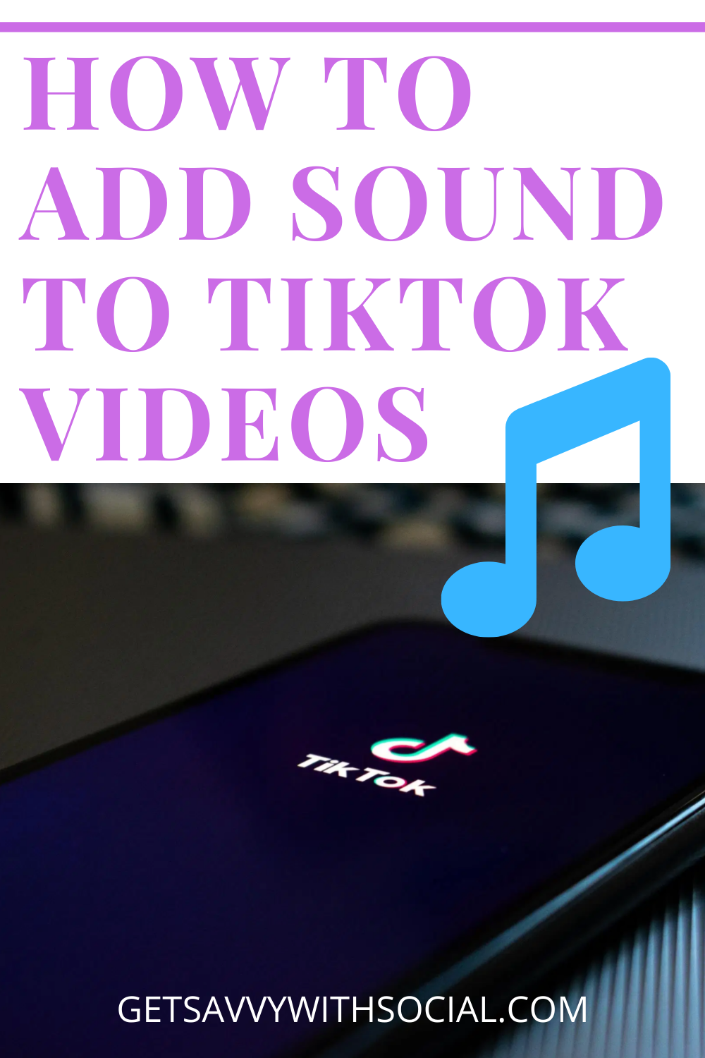 How To Add Sound To Tiktok Videos People Videos Voice Effects Videos
