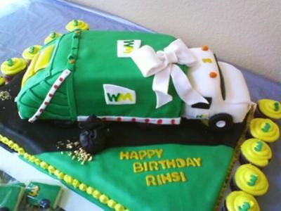 kids garbage truck birthday cakes dump truck cake this cake was