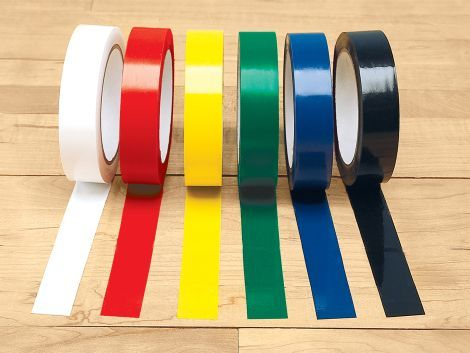 Deluxe Vinyl Floor Tape Lay Down The Line With This Easy