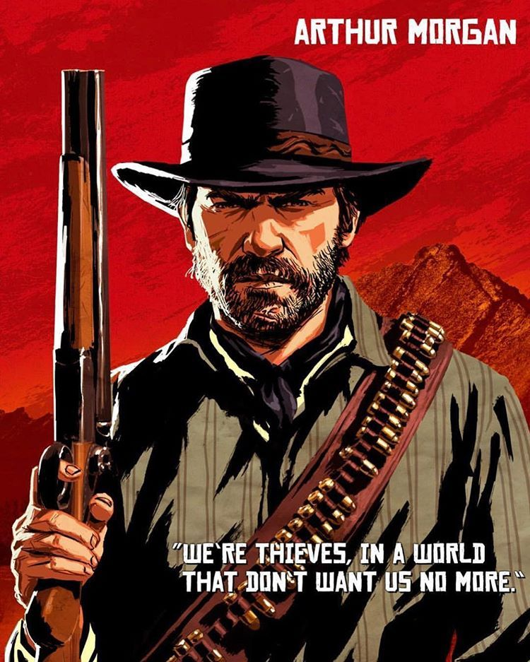 Arthur Morgan Red Dead Redemption 2 Vol 2 Realism Cartoon
